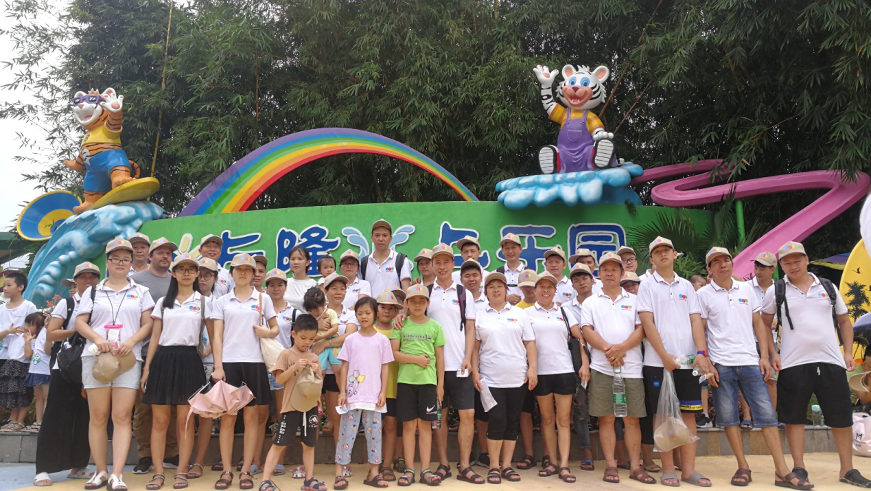 Ace Inflatables Team Enjoyed a Holiday in an Amusement Park