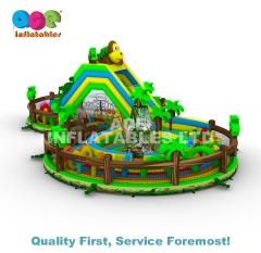 Jungle Inflatable Park